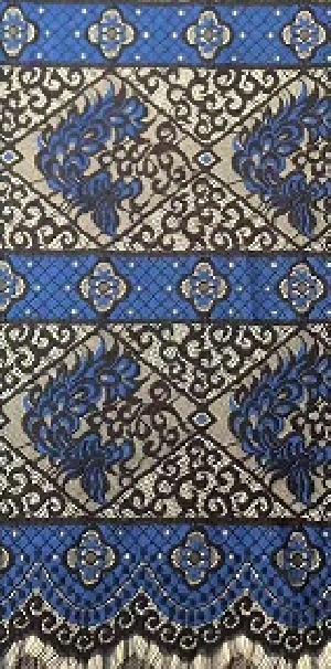 YS10234 Multi Colored Eyelash Lace Fabric