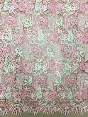 YS2359MX Multicolored Guipure Lace Fabric