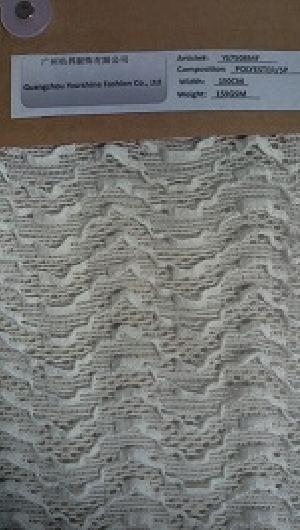 YS7508 Polyester Lace Fabric