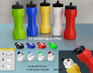 350ml Dumbbell Sipper Bottles