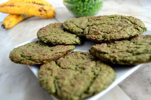 Spirulina Salt Biscuits