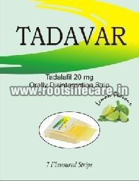 Tadavar Oral Strips