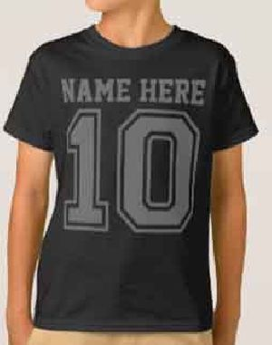 Boys Customized Round Neck T-Shirts