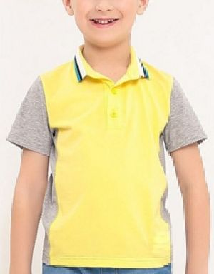 Boys Designer Half Sleeve Polo T-Shirts