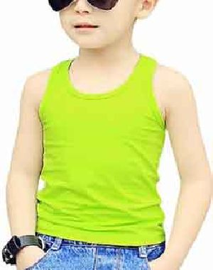 Boys Plain Tank Tops