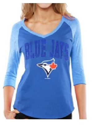 Ladies Raglan V Neck T-Shirts