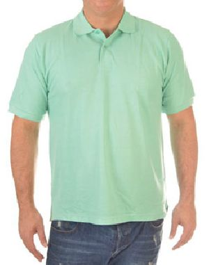 Mens Plain Half Sleeve Polo T-Shirts