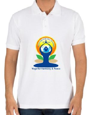 Mens Polo Yoga T-Shirts