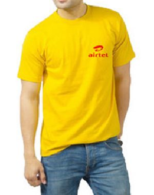 Mens Promotional Half Sleeve Round Neck T-Shirts