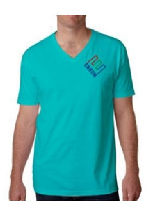 Mens Promotional Half Sleeve V Neck T-Shirts