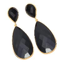 black onyx gemstone