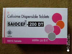 Saiocef-200 DT Tablets