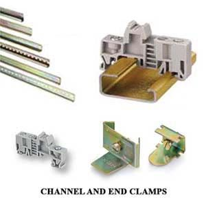 HEX End Clamps & Rail Channels