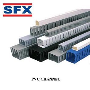Pvc wiring channels