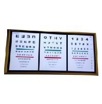 LED Acrylic Ophthalmic Chart 04