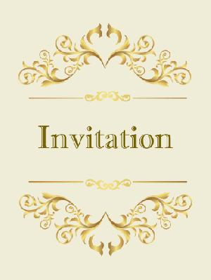 Invitation Card Screen Printing Services