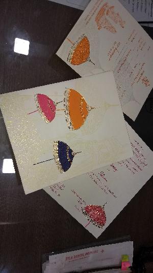 Wedding Card Screen Printing Service 12