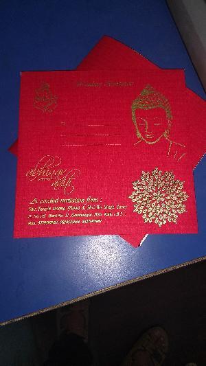 Wedding Card Screen Printing Service 19
