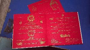 Wedding Card Screen Printing Service 20
