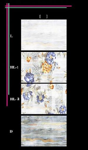 300x450mm Glossy 1 Series Wall Tiles 06