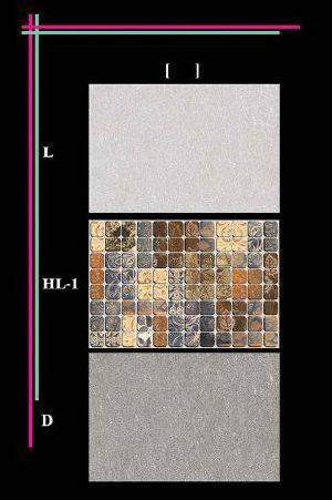 300x450mm Glossy 1 Series Wall Tiles