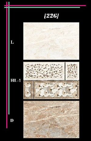 300x450mm Glossy 3 Series Wall Tiles