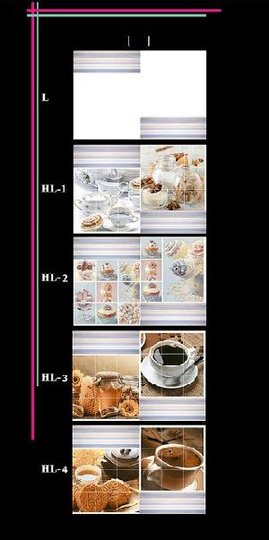 300x450mm Kitchen 2 Wall Tiles 01
