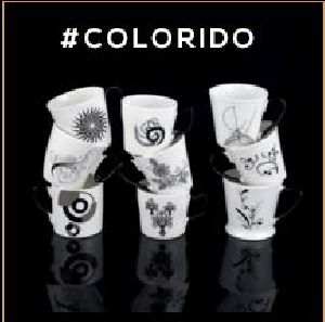 Colorido Series Ceramic Mugs