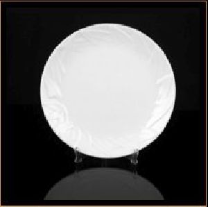 Designer Leaf Round Plate 03