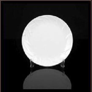 Designer Leaf Round Plate
