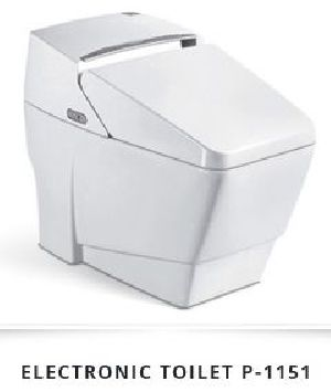 Electronic Ceramic Toilet