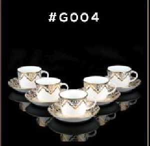 Gold Carpet Gold Line Series Cup & Saucer Set	 03