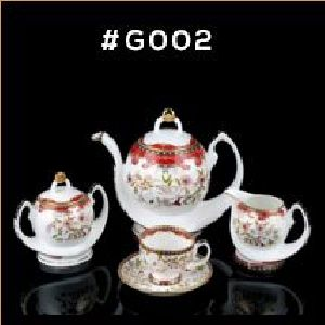 Gold Carpet Gold Line Series Tea & Coffee Set 01