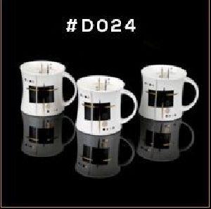 Gold Chain Series Ceramic Mug 04