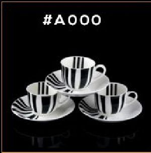 Microwave Series Cup & Saucer Set 01
