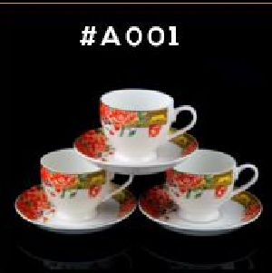 Microwave Series Cup & Saucer Set 02