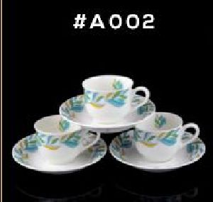 Microwave Series Cup & Saucer Set 03
