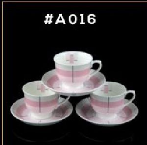 Microwave Series Cup & Saucer Set 04