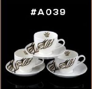Microwave Series Cup & Saucer Set 06