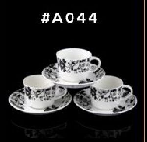 Microwave Series Cup & Saucer Set 07