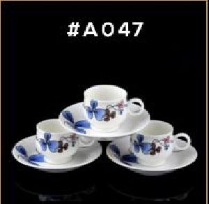 Microwave Series Cup & Saucer Set 08