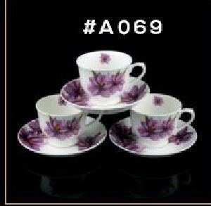 Microwave Series Cup & Saucer Set 09