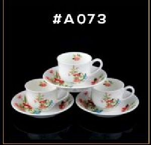 Microwave Series Cup & Saucer Set 10