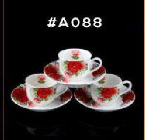 Microwave Series Cup & Saucer Set 11