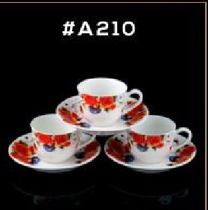 Microwave Series Cup & Saucer Set 23