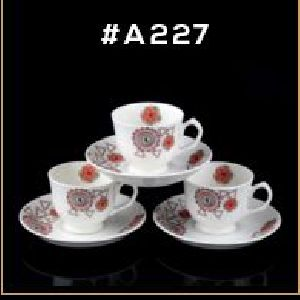 Microwave Series Cup & Saucer Set 25