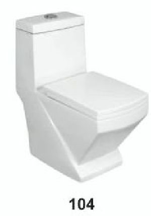 One Piece Ceramic Toilet 04