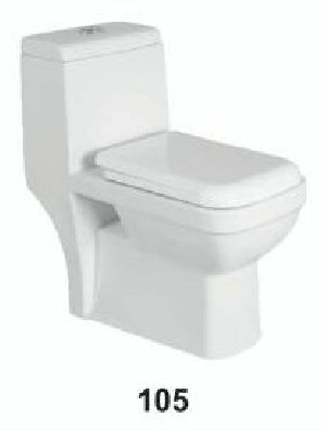One Piece Ceramic Toilet 05
