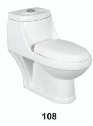 One Piece Ceramic Toilet 08
