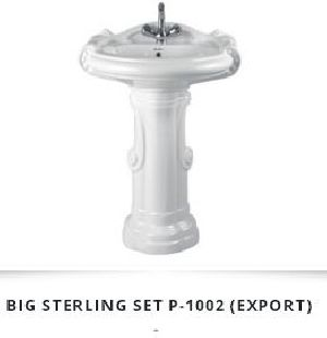 Pedestal Wash Basin 05